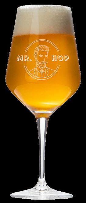 Bierglas seizoensbier