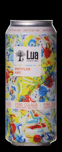 Untitled Art / Lua Brewing Piña Colada Smoothie Seltzer