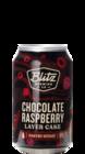 Blitz Brewing Chocolate Raspberry Layer Cake
