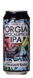 Poesiat & Kater The Poetry of Hangovers Verse 7: Orgia Apocaliptica IPA