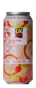 Untitled Art / LIC Beer Project Sweet & Sour Blood Orange Imperial IPA