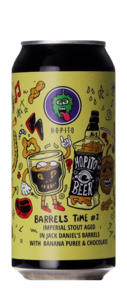 Hopito Barrels Time #2 (Jack Daniel's BA w/ Banana Puree & Chocolate
