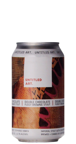 Untitled Art Double Chocolate Fudgy Brownie Stout