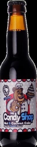 Deer Bear Candy Shop Nut & Coconut Cake