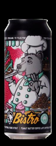 Deer Bear Bistro – Peanut Butter Coffee Latte Imperial Fudge Stout