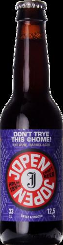 Jopen Don't TRYE This @home! 2021 BA Cognac