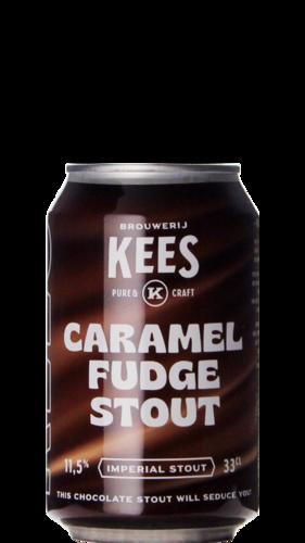 Kees Caramel Fudge Stout Blik