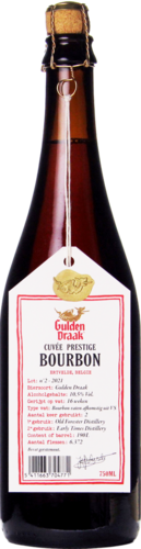 Van Steenberge Gulden Draak Cuvée Prestige Bourbon 2021