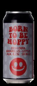 Monkey Browar Born To Be Hoppy DDH DIPA Amarillo Lotus