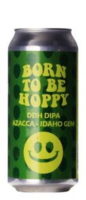 Monkey Browar Born To Be Hoppy DDH DIPA Azacca Idaho Gem