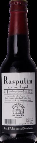 De Molen Rasputin Gin Barrel Aged