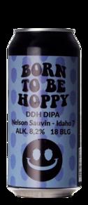 Monkey Browar Born To Be Hoppy DDH DIPA Nelson Sauvin Idaho 7